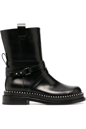 ERMANNO SCERVINO Studded leather ankle boots
