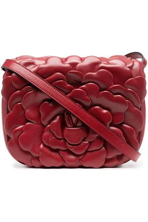 VALENTINO GARAVANI Tiered floral clutch bag