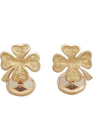 Dolce & Gabbana 18kt yellow ruby Good Luck cufflinks