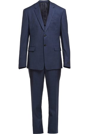 Prada Single-breasted checked suit