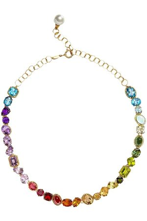 Dolce & Gabbana Multicolour gem necklace