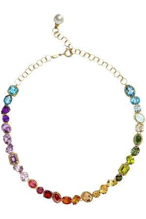 Dolce & Gabbana Multicolour gem necklace