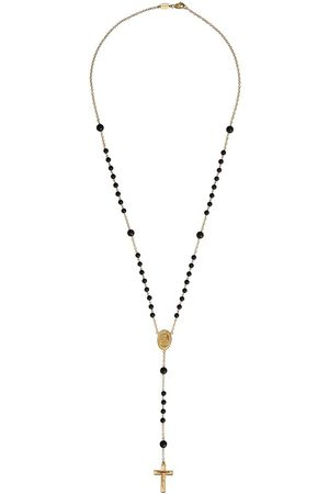 Dolce & Gabbana 18kt yellow sapphire rosary necklace