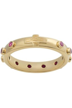 Dolce & Gabbana Devotion ruby-embellished ring