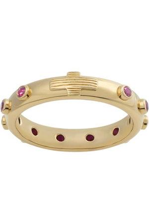 Dolce & Gabbana Women Rings - Devotion ruby-embellished ring