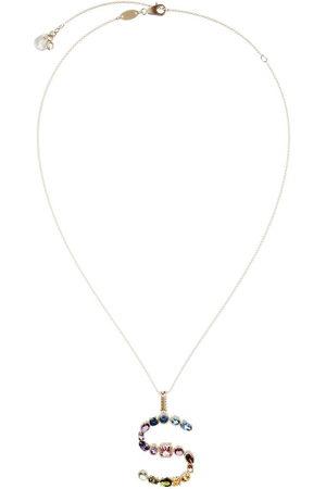 Dolce & Gabbana Topaz initial S necklace
