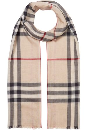 Burberry Oversized Vintage Check scarf - Neutrals