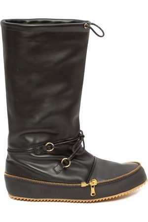 J.W.Anderson Moon calf-length boots