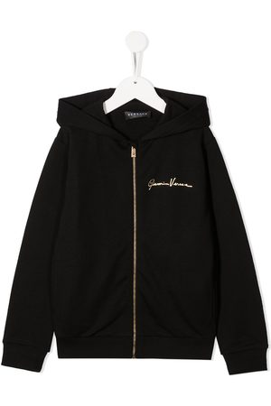 VERSACE Boys Hoodies - Medusa print hoodie