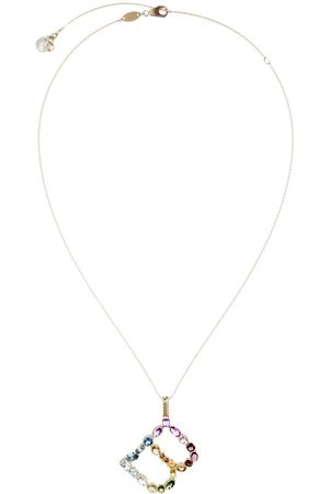 Dolce & Gabbana Topaz initial B necklace