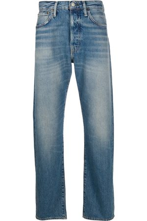 Acne Studios Men Straight - 1996 distressed straight-leg jeans