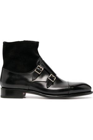 santoni Men Formal Shoes - Double monk strap boots