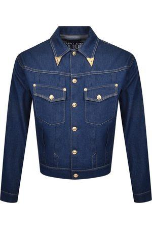 VERSACE Couture Gold Tip Denim Jacket