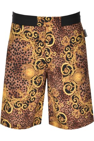 VERSACE Couture Mixed Print Shorts
