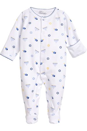 Kissy Kissy Infant Boy's Hanukkah Print Footie