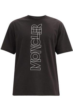 Moncler Men T-shirts - Logo-print Cotton-jersey T-shirt - Mens
