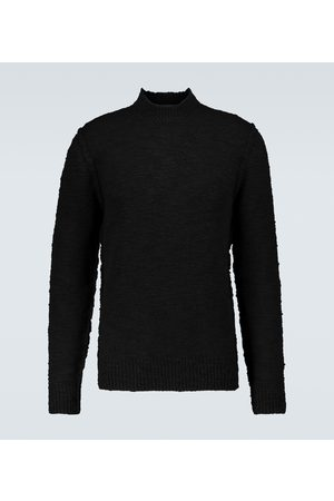 Dolce & Gabbana Men Sweaters - Wool-blend mock neck sweater
