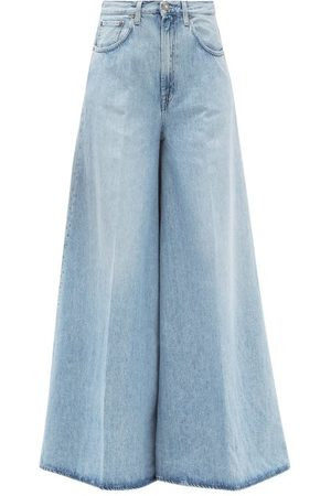 Made In Tomboy Women Wide Leg - Benny Wide-leg Jeans - Womens - Light Denim