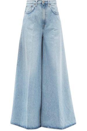 Made In Tomboy Women Wide Leg - Benny Wide-leg Jeans - Womens - Light Denim