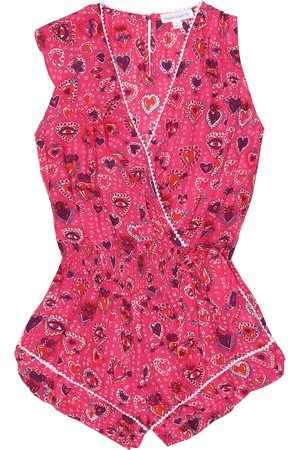 POUPETTE ST BARTH Gwen printed playsuit