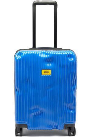 Crash Men Luggage - Stripe 55cm Cabin Suitcase - Mens