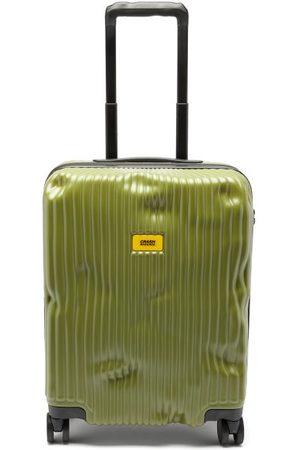 Crash Stripe 55cm Cabin Suitcase - Mens - Khaki