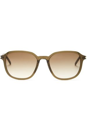 Saint Laurent Square Acetate Sunglasses - Mens