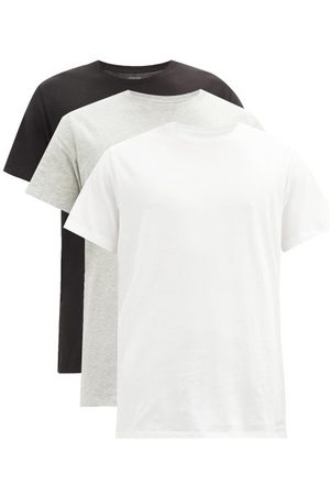 Calvin Klein Pack Of Three Cotton-jersey T-shirts - Mens - Multi