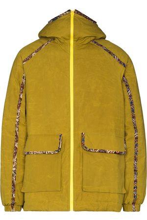 Paria Farzaneh Men Jackets - Contrast piped-trim detail jacket