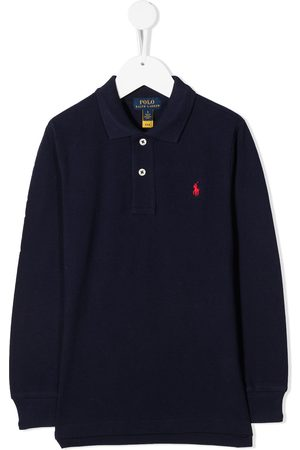 Ralph Lauren Embroidered logo long-sleeved polo shirt