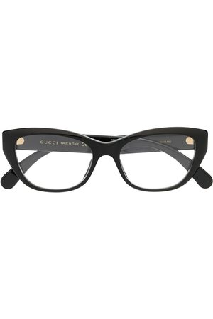 Gucci Cat-eye logo glasses