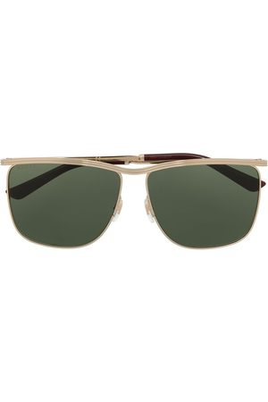 Gucci Metal frame square sunglasses