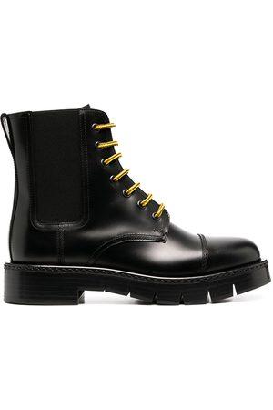 Salvatore Ferragamo Lace-up Chelsea boots