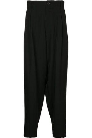 Yohji Yamamoto Men Formal Pants - Pleated wool trousers