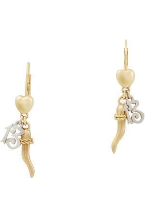 Dolce & Gabbana Family drop earrings