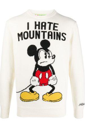 MC2 SAINT BARTH I Hate Mountains jumper - Neutrals