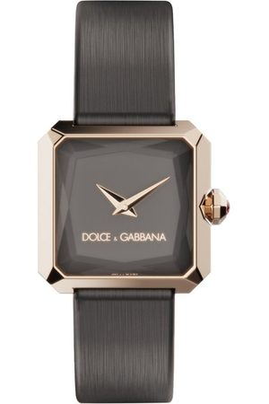 Dolce & Gabbana Sofia square-face 24mm watch - Grey