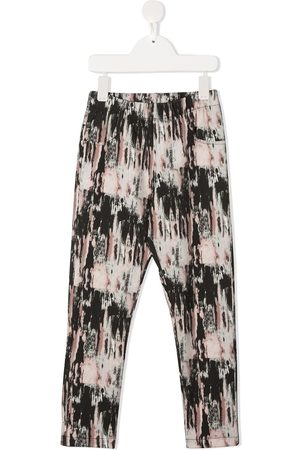 Le pandorine Aurora-print slim-fit leggings