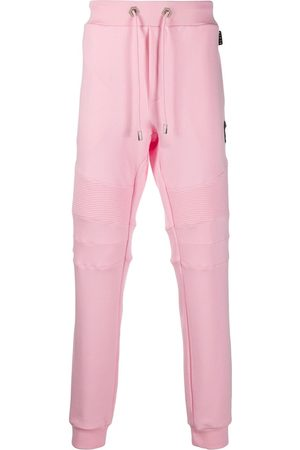 Philipp Plein Track pants with quilted detailing