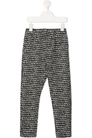 Le pandorine Dot-print slim-fit leggings