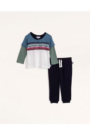 Splendid Boys Sets - Baby Boy Twofer Stripe Top Set