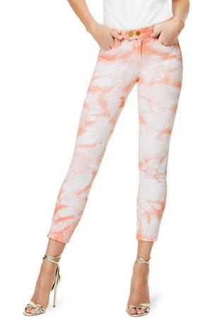 Ramy Brook Women's Katie Tie-Dye Ankle Cropped Jeans - - Size 26 (2-4)