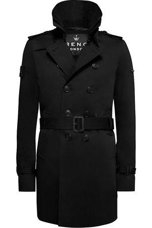 Trench London Men Trench Coats - Men's The Rake Slim Trench Coat - - Size XL