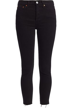 RE/DONE Women's High-Rise Ankle Skinny Jeans - - Size 31 (10)