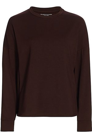 Majestic Women's French Terry Wide-Sleeve Pullover - - Size 5 (XL)