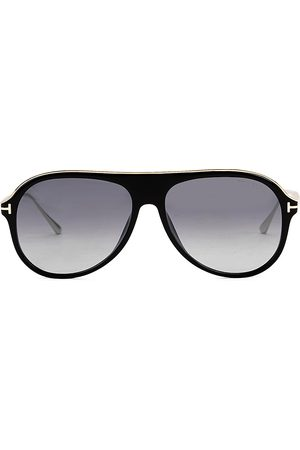 Tom Ford Men's 57MM Injected Sunglasses