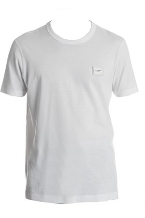 Dolce & Gabbana Men's Plaque Tee - - Size 54 (44)