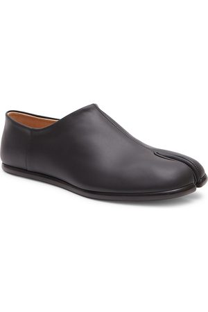 Maison Margiela Men's Tabi Babouche Leather Slip-On Shoes - - Size 45 (12)