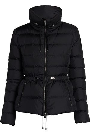 Moncler Women's Marquer Short Quilted Down Rain Jacket - - Size 2 (Medium)
