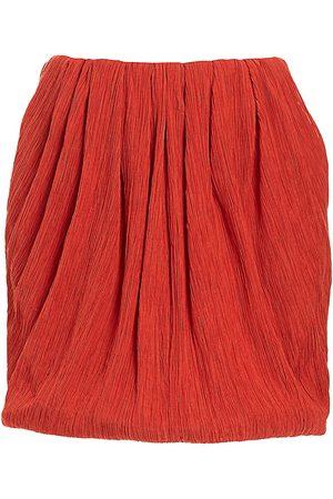 Nina Ricci Women's Cotton & Silk Mini Bubble Skirt - - Size 42 (10)